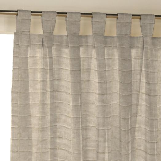 Como hacer cortinas con tiras tambi n llamadas trabillas for Como hacer una cortina para exterior