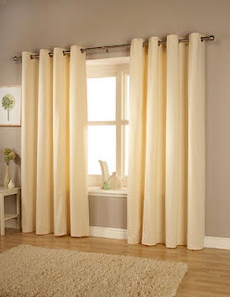 Como hacer cortinas modernas para sala con ojillos - Telas de cortinas modernas ...