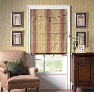 Como hacer cortinas romanas, de manera tradicional.