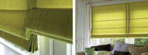 como hacer cortinas romanas