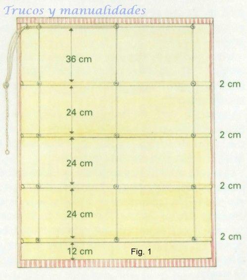 C mo hacer cortinas enrollables caseras para cualquier - Como hacer unas cortinas paso a paso ...