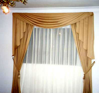 Telas para cortinas de salon free beautiful good tecido - Como hacer cortinas ...