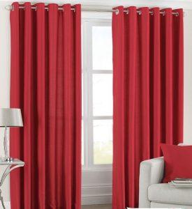 Como hacer cortinas navideñas4