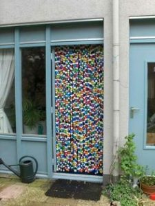 Como hacer unas  cortinas originales