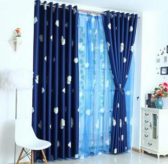 Como hacer cortinas para habitación, de niños varones.
