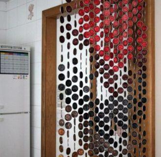 Como hacer unas cortinas originales, paso a paso reciclando materiales.