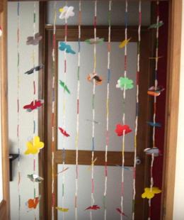 como hacer unas cortinas originales paso a paso reciclando