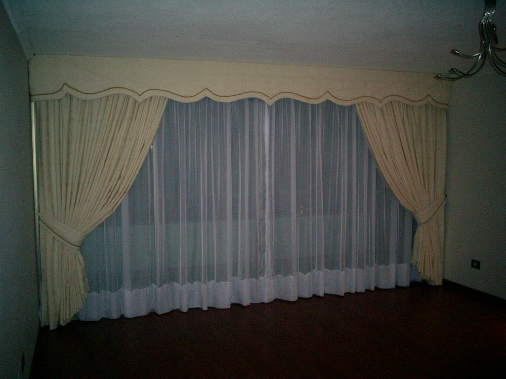 Como hacer cenefas acolchadas para decorar cualquier - Formas de cortinas ...