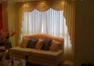como hacer cenefas de cortinas en ondas