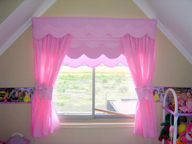 Como hacer cenefas decorativas en diferentes modelos - Cortinas habitaciones infantiles ...