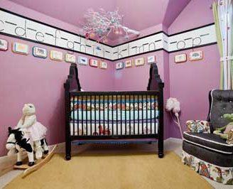Como hacer cenefas infantiles, para decorar la habitación de tu bebe.