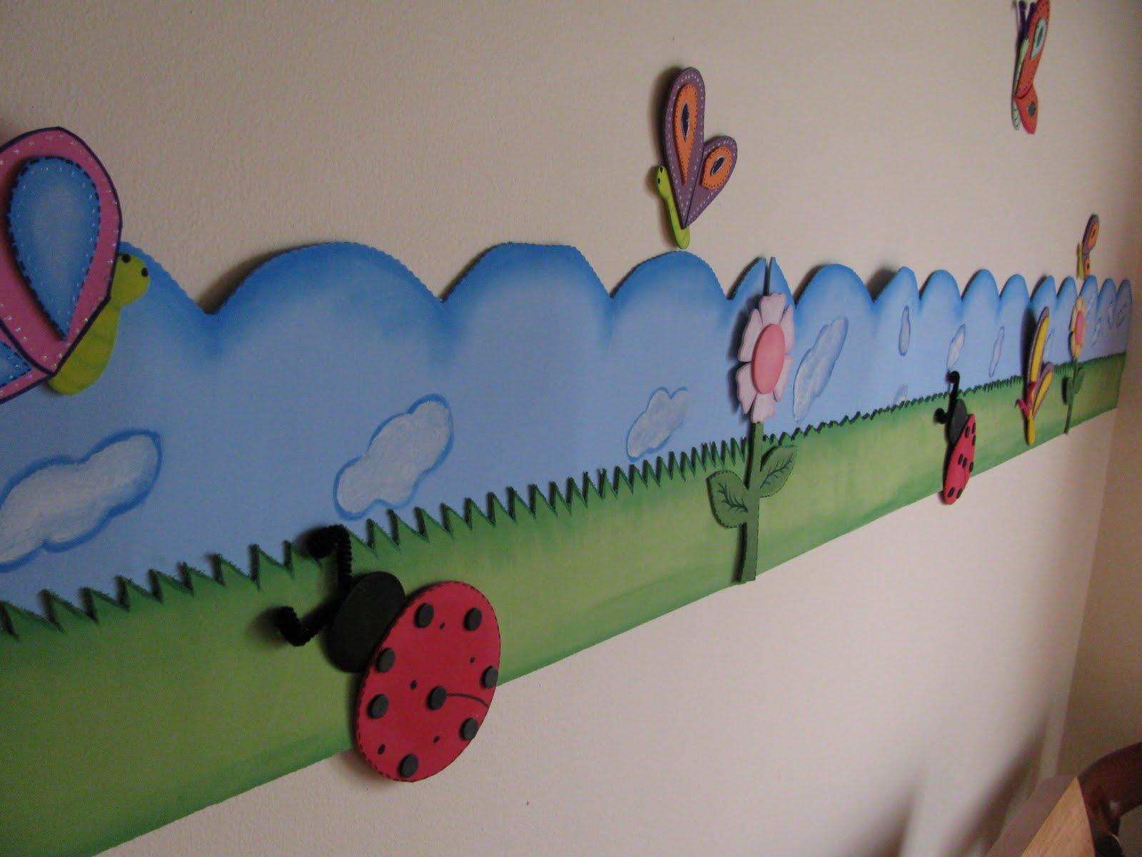 Como hacer cenefas infantiles para decorar la habitaci n - Cenefas de papel infantiles ...