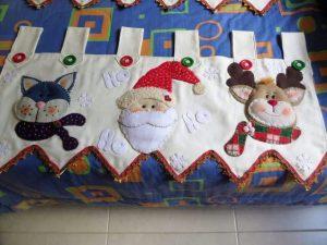 como hacer cenefas navideñas
