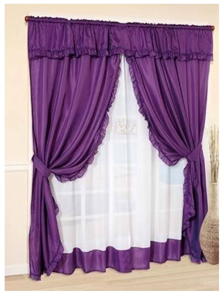 Como hacer cortinas con volados para cualquier habitaci n - Como hacer unas cortinas paso a paso ...