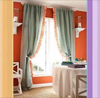 Como hacer cortinas a mano, con diferentes puntos.
