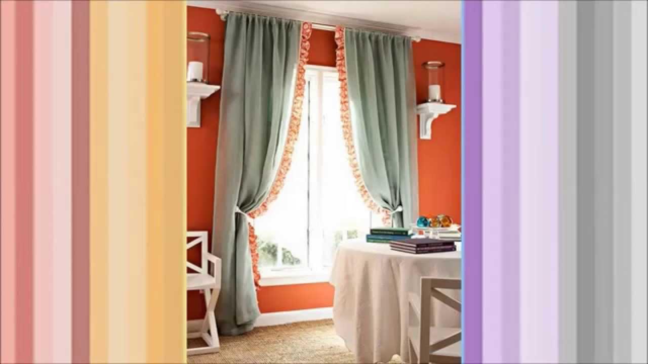 Como hacer cortinas a mano con diferentes puntos - Cortinas contemporaneas ...