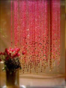 como hacer cortinas artesanales separador de ambientes
