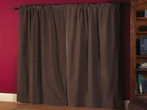 Como hacer cortinas black out r pido y sencillo en casa for Como hacer cortinas corredizas