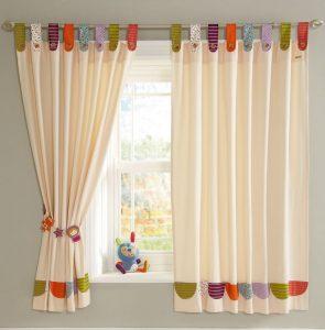 Cómo hacer cortinas con botones