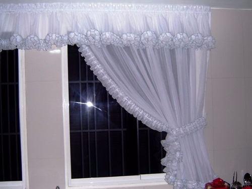 Como hacer cortinas con cenefa sin mucha complicaci n - Cortinas bonitas y modernas ...