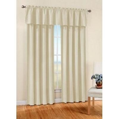 Como hacer cortinas con cenefa sin mucha complicaci n for Anillas con pinza para cortinas