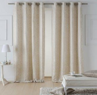 Como hacer cortinas con ojales, muy sencillas y fáciles.