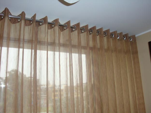 Como hacer cortinas con ojales muy sencillas y f ciles for Como poner cortinas