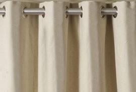 Como hacer cortinas con ojales