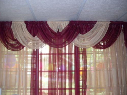 Como hacer cortinas con ondas en la parte de la cenefa for Como hacer un bando para cortinas