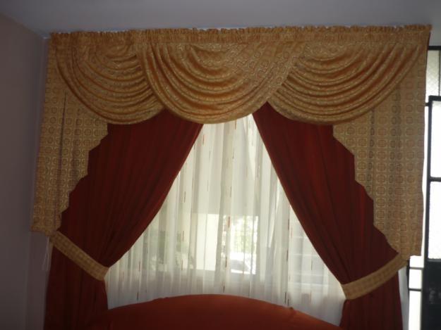 Como hacer cortinas con ondas en la parte de la cenefa for Como hacer cortinas para salon