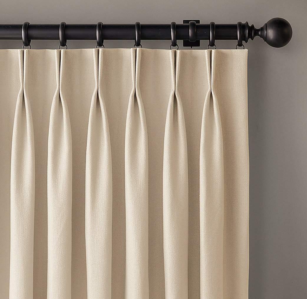 Como hacer cortinas con pliegues al estilo franc s - Cabezales de tela ...