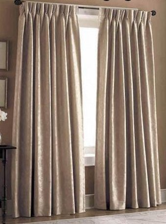 Como hacer cortinas con pliegues al estilo franc s - Que cortinas se llevan ...