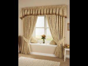 cortinas hechas con tablas