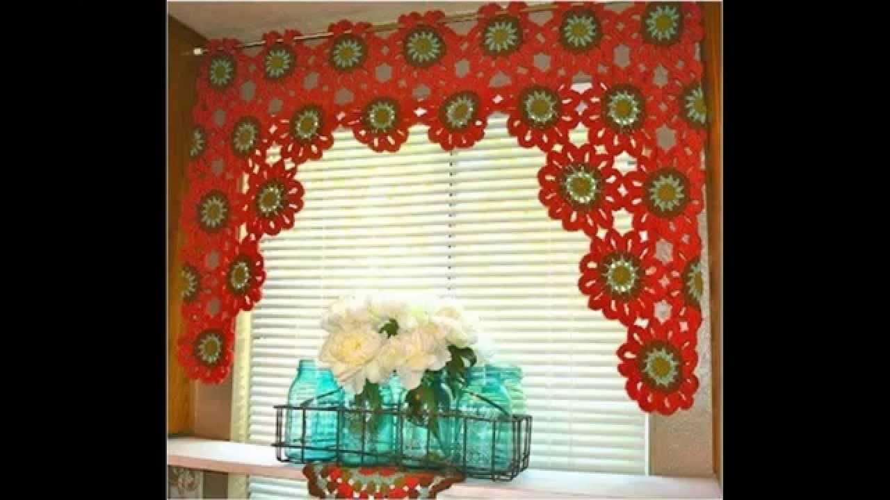 Cortinas para cocina ganchillo como hacer cortinas de for Como hacer cortinas para cocina