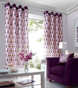como hacer cortinas de salon