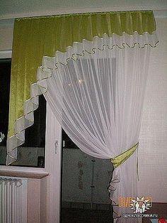 Como hacer cortinas drapeadas con molde sencillo - Como hacer visillos ...