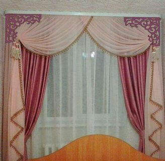Como hacer cortinas drapeadas, con molde sencillo.