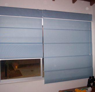Como hacer cortinas enrollables, sin ninguna costura.