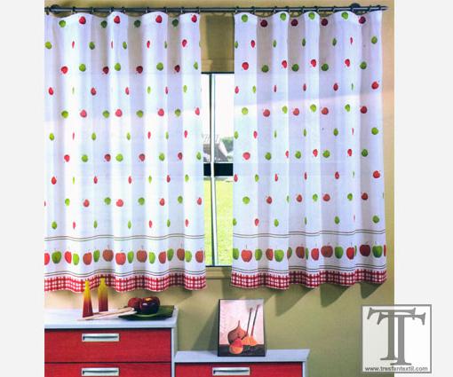 Como hacer cortinas faciles y economicas para tu hogar - Cortinas cocina leroy merlin ...