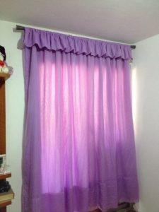 como hacer cortinas faciles sin coser