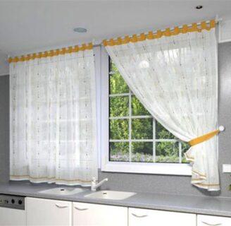 Cortinas para cocina archives como hacer cortinas y cenefas for Como hacer cortinas para cocina