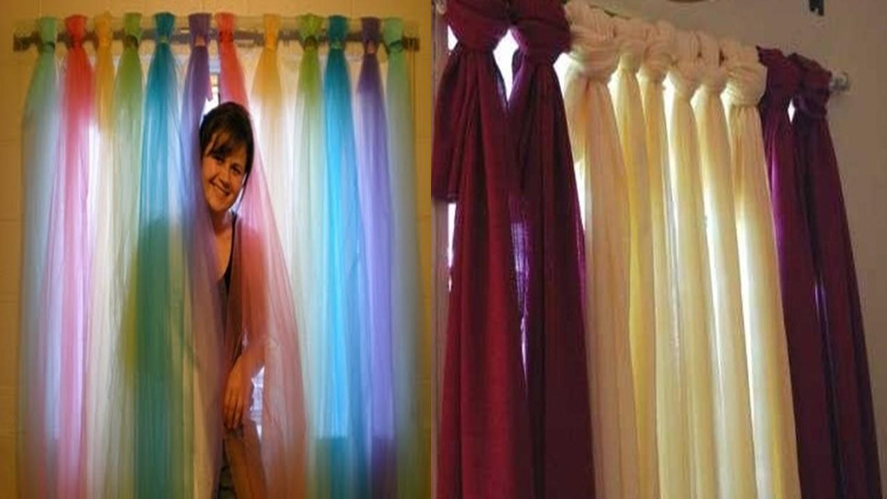 Como hacer cortinas para ni os de una menera muy f cil y for Ideas para cortinas infantiles