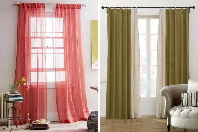 Como hacer cortinas paso a paso f cil y r pido en casa for Decoracion de cortinas para comedor