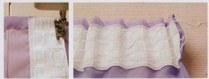 como hacer cortinas plisadas