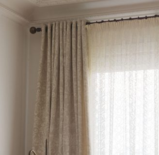 Como hacer cortinas plisadas, con cinta fruncidora.