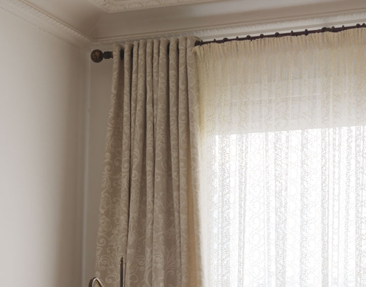 Como hacer cortinas plisadas con cinta fruncidora - Telas para visillos cortinas ...