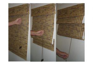 cómo hacer cortinas store