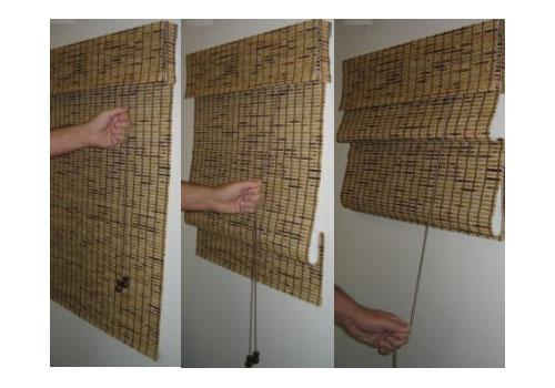 C mo hacer cortinas store con un estilo muy moderno for Como hacer una cortina para exterior