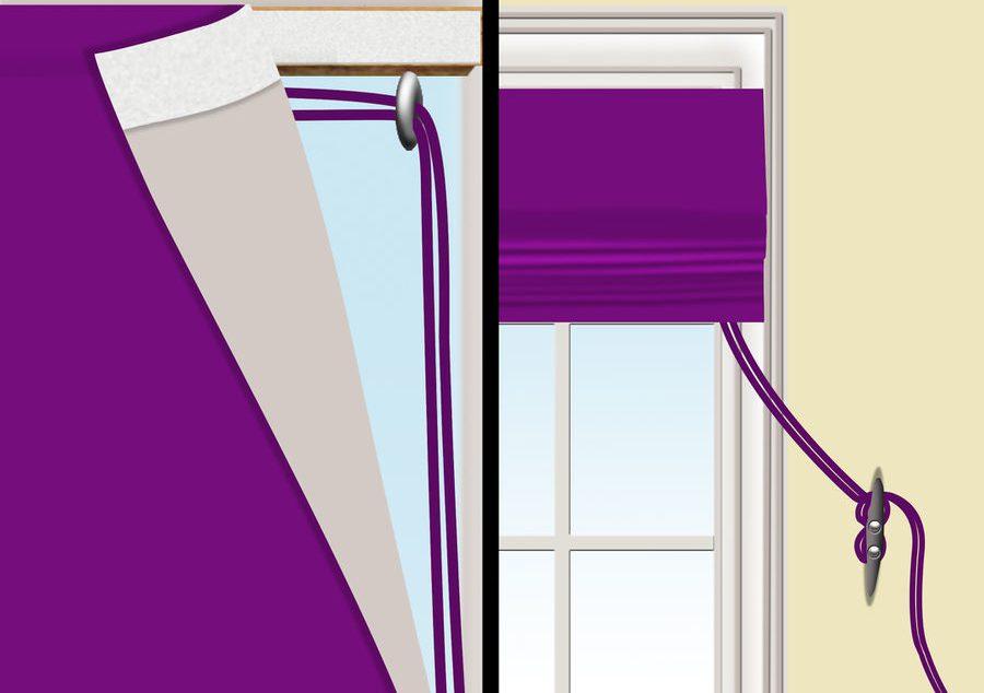 Como hacer cortinas tipo persianas con pliegues horizontales - Cortinas tipo persianas ...