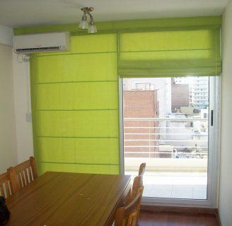 Como hacer cortinas tipo persianas, con pliegues horizontales.